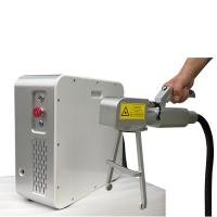 China Handhold Electric Laser Rust Remover , Fiber Laser Cleaning Machine With Long Service Life on sale