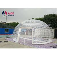 6m diameter Inflatable Event Tent Ventilation Inflatable dome Double Layer Tent Amazon Manufactures