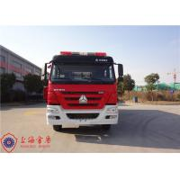 Four Door Structure Fire Fighting Truck 6x4 Drive ISO9001/CCC Foam Fire Truck Manufactures