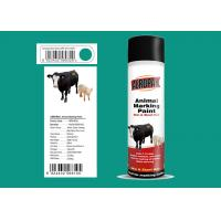Gem Green Animal Marking Paint For Cattle Two Square Meters / Can Manufactures