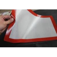 Buy cheap blue 300*400 fiberglass silicone baking mat from wholesalers
