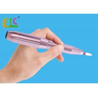 Nail Filer Machine 20000RPM Pen Shape Portable Rose Violit Color Continuously Variable Speed