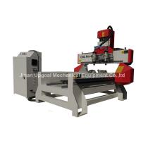 500*1000mm Flat Cylinder CNC Carving Machine with 2 Spindles 2 Rotary Axis Manufactures