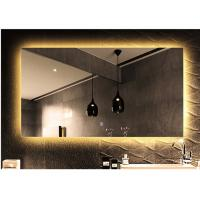 Buy cheap Frameless Bathroom back light Mirror decorative anti-fog mirror bathroom mirror with light from wholesalers