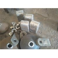 High Manganese Steel Hammers for Clinker Crushers Hardness More Than 190HB Manufactures
