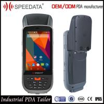 IP65 Laser Handheld RFID Reader , Portable Data Terminal Barcode Scanner Android Manufactures