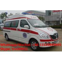 Quality High quality and lower price FOTON MP  E series transiting ambulance vehicle for sale, FOTON gasoline ambulance for sale