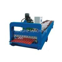 PPGI Steel Roller Shutter Door Roll Forming Machine With 3kw Power Motor Control Manufactures