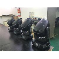 Two Gobo Wheel 350W Stage Moving Head Light / Beam Spot Wash Light Manufactures