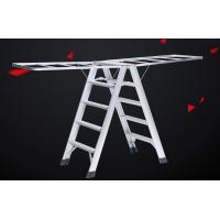 Loft Access Hanging Ladder Custom Aluminum Extrusion Multifunction ISO9001 Certification Manufactures