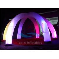 Remote Controlled LED Standing Inflatable Decoration For Event Strong Airproof Manufactures