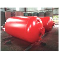 Portable Compressed Air Receiver Tank Vertical / Horizontal Type Large Volume Manufactures
