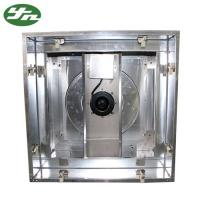 304 Stainless Steel Exhaust Fan Filter BFU Hepa Box Low Noise Type For Clean Room Manufactures