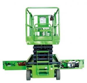 Quality 450Kg Loading Self-propelled Scissor Lift , 8m Platform Height , Electrical for sale