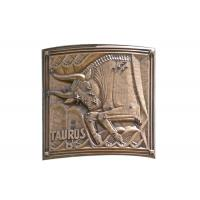 Contemporary Wall Art Metal Bronze Relief For Indoor Decoration Soft Texture Manufactures