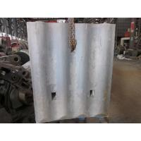 High Cr White Iron Mill Liners D-12-D Coal Mill Hardness HRC58 - HRC61 After Shot Blasting Manufactures