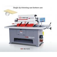 Buy cheap High Performance Single Rip Saw Machine Blade Diameter 400mm Total Power 9.02kw from wholesalers