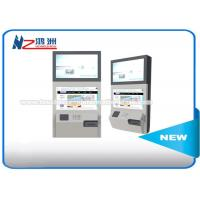 Stand Alone Wall Mount Self Service Banking Kiosk Dual Screen Led Or LCD Manufactures