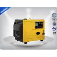 4.5kva Silent Diesel Generator For  Home Use 3 Phase Portable Generator Set 72 dB With Digital Panel , Silent Frame Manufactures
