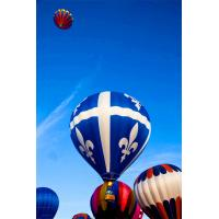 Large Sweet Air Colorful Inflatable Hot Air Balloon Tours Fireproof For People To Go Sightseeing Manufactures