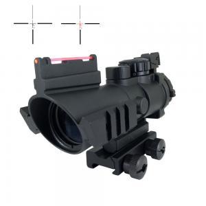 Army Fiber 4x AR Optics Scope Variable 4 x 32 Multi Side Mounting Aluminum Manufactures