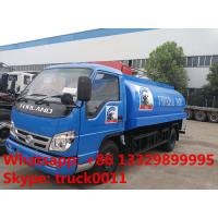 cheapest price forland RHD 5000L stainless steel milk tank truck for sale, factory sale forland liquid food tank truck Manufactures