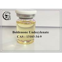 CAS 13103-34-9 Boldenone Undecylenate Injectable Anabolic Steroids 300mg/ml Equipoise Manufactures