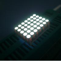 High Luminous Flexible 0.7inch 5*7 Dot Matrix Display LED Screen For Message Board Manufactures