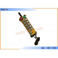 CE Wireless Hoist Remote Control Radio Remote Control For Cranes Manufactures