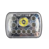 7 inch 45 watt square front car light with Cree chips and angle eye high/low beams Manufactures