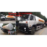 CLW Brand 10tons LPG mobile tanker truck for sale, high quality and best price 25m3 dongfeng brand LPG gas bobtail truck Manufactures