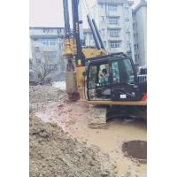 Piledriver Construction Hydraulic Piling Machine , 24m Pile Driver Equipment Foundation KR60C Manufactures