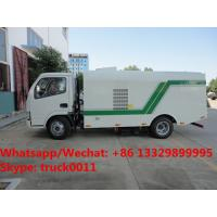 Factory sale best price Dongfeng 4*2 RHD Vacuum sweeping truck, HOT SALE! China-made dry type road cleaning truck Manufactures