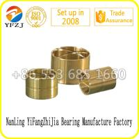 Customized Self-lubricating Bronze Bushing Thin Wall Bearing Copper Bushing Sleeve Type Manufactures