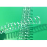 Quality Clear Spiral Binding Coils Books Twin Loop Wire 11.0 mm Binding Capacity for sale