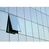 Quality Building Material Aluminium Curtain Wall Waterproof With Double Glazing Glass for sale