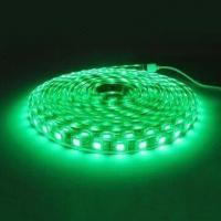Waterproof IP65 green 50000 hours 300 leds / 5 Meter 1.2A SMD led strip light Manufactures