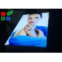 Quality 2 X 3 Big Format LED Edge - Lit Style Fabric Light Box With Roll Up White Backing For Shop Adverditing for sale