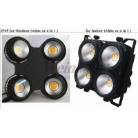 Quality Led Par Can Lights Warm White 4 Eyes COB Led TV Show Audience Blinder Light for sale