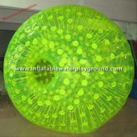 Big Adults Inflatable Zorb Ball , 3m Diameter Body Zorbing Bubble Ball Manufactures