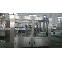 PET Bottle Carbonated Drink Filling Machine , Soda Water Bottling Plant Equipment