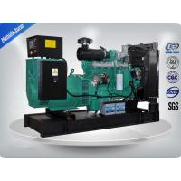 Water Cooled Cummins Diesel Generator Set Low Noise 100Kva / 80 Kw Iso9001 Certificate Manufactures