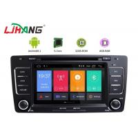 Skoda Octavia Vw Dvd Player , Vehicle Dvd Player With BT Canbus Rear Camera Manufactures