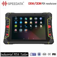 Quality 8 Inch Android Rugged Barcode Scanner Writer Data Collection Terminal Nfc Rugged Tablet Indusctrial Class for sale