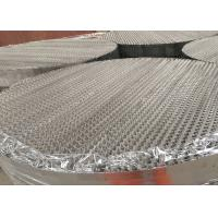 Mesh Corrugated Packing Metal Structured Packing With Igh Mass Transfer Surface Area Manufactures