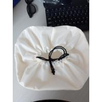 Large Custom White Drawstring Bag , Nylon Drawstring Bags 20*8 Cm Manufactures