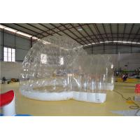 Fire Resistant Inflatable Wedding Tent Clear Inflatable Globe Tent Manufactures