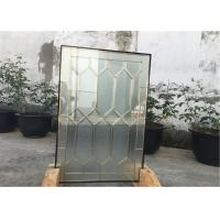 "22""*48"" Solid Architectural Decorative Panel Glass , Solid Flat Tempered Glass Panels Manufactures"