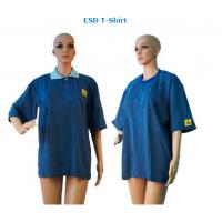 ESD T-shirt Antistatic Clothing Manufactures