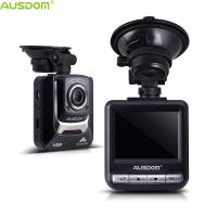 AUSDOM AD282 Plug and Play Ambarella A7 1296P 2.4 LCD Night Version G-Sensor Car DVR Dash Camera Support Micro SD Card Manufactures